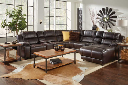 Picture of BRISTOL 7 PIECE RIGHT ARM FACING CHAISE SECTIONAL