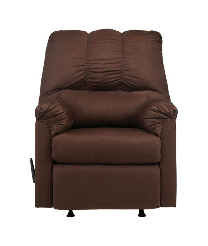 Picture of EMMA CHOCOLATE ROCKER RECLINER