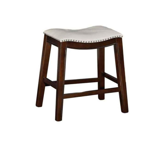 "Picture of SADDLE CREEK BOGO CREAM 24"" COUNTER STOOL"