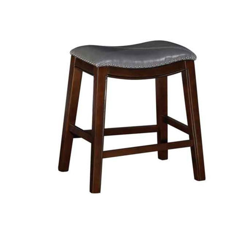 "Picture of SADDLE CREEK BOGO GREY 24"" BAR STOOL"