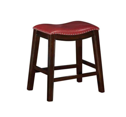 "Picture of SADDLE CREEK BOGO RED 24"" BAR STOOL"