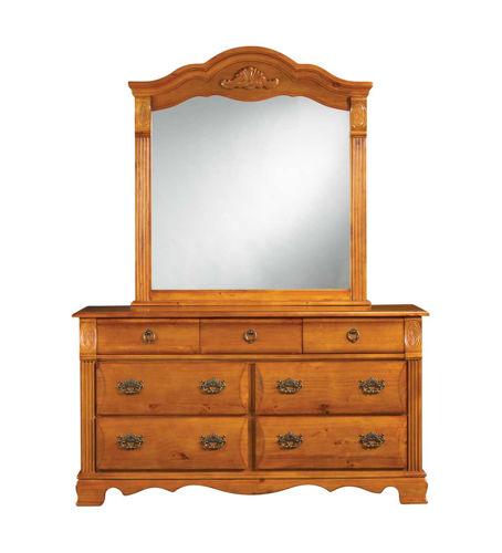 Picture of Sugar Palms Dresser & Mirror