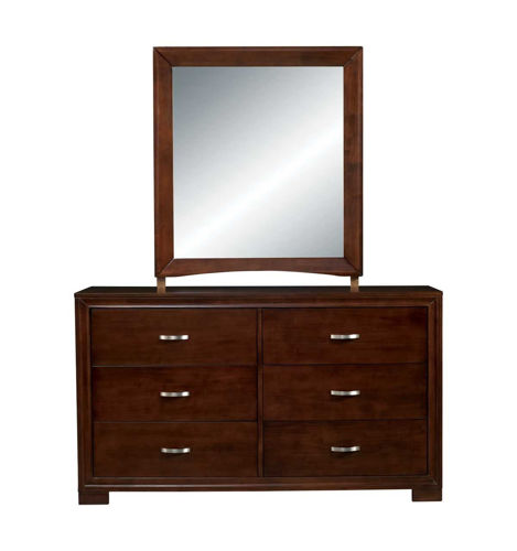 Picture of Raven Dresser & Mirror