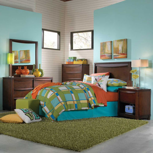Picture of Brady Full Panel Bed