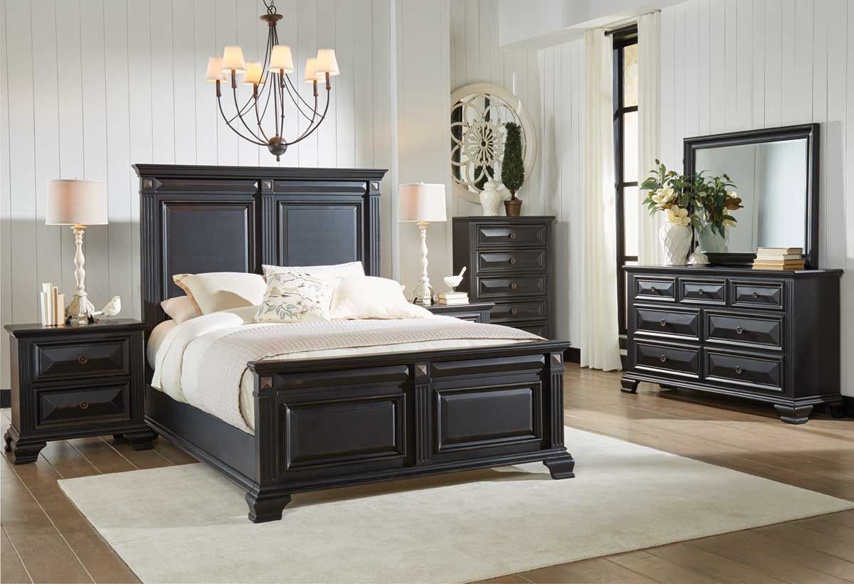 MANCHESTER 5 PIECE KING BEDROOM SET