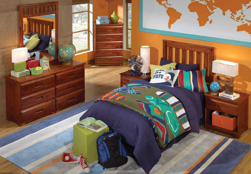 Picture of FORRESTER 3 PIECE TWIN BEDROOM SET