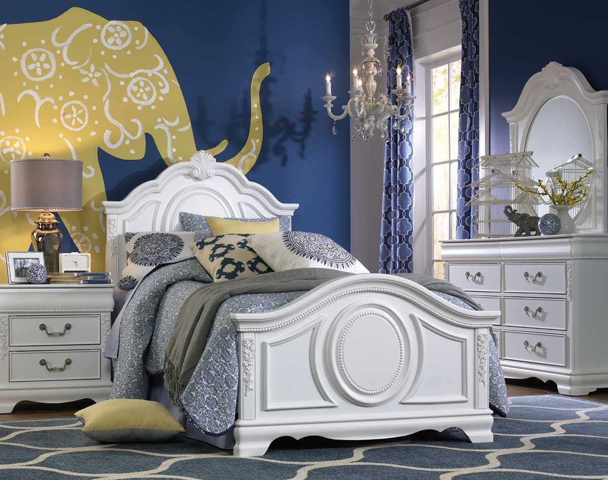Picture of Grace Twin Panel Bed