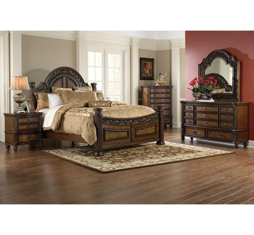 Picture of VERONA 5 PIECE KING BEDROOM SET