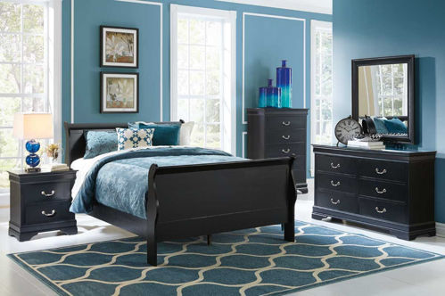 Picture of Carrington II Twin Sleigh Bed