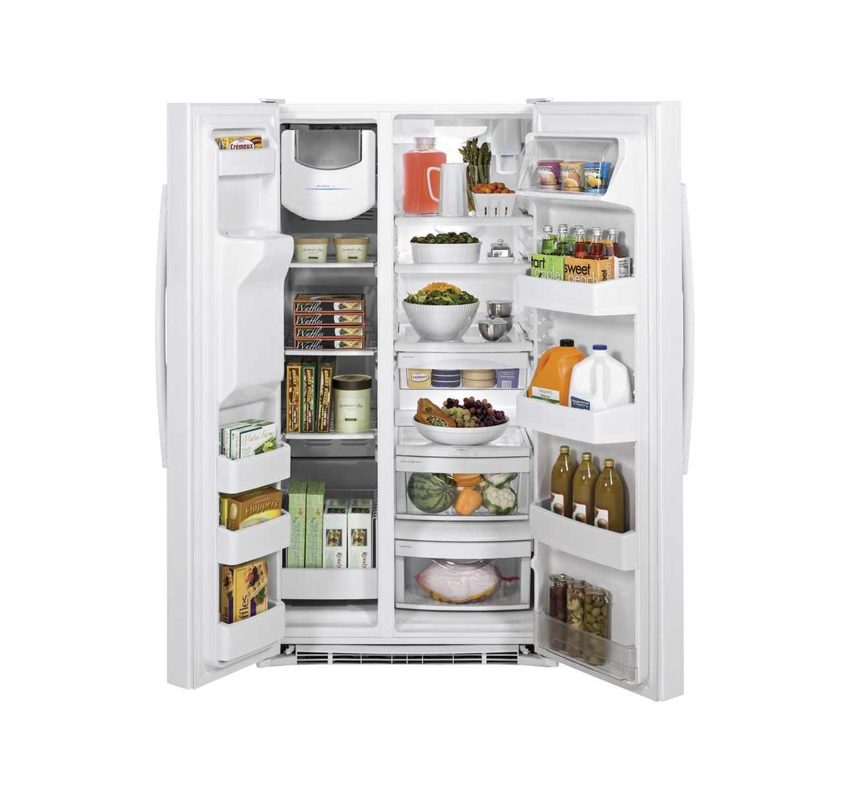Picture of G.E. SIDE-BY-SIDE REFRIGERATOR