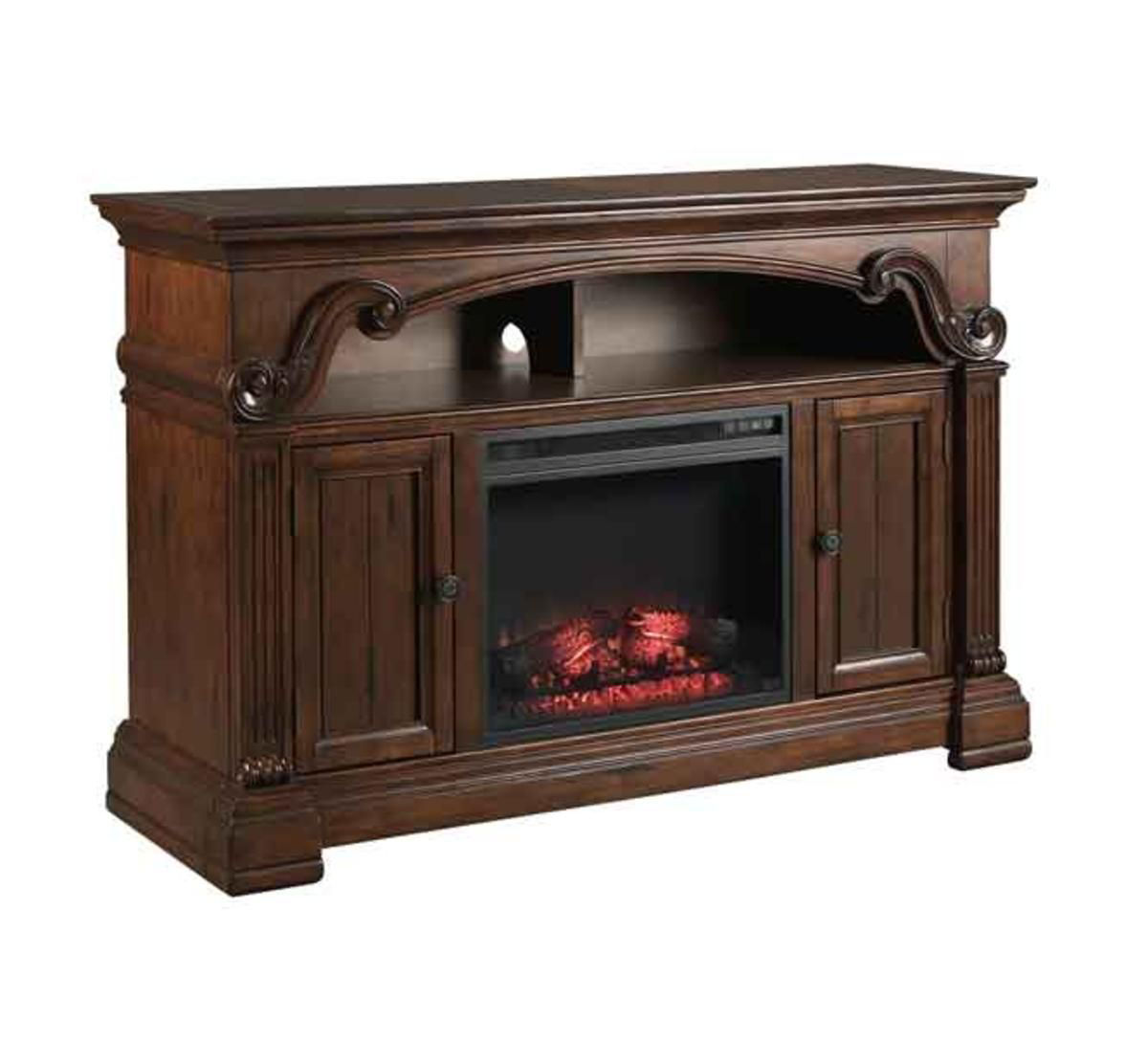 "Picture of CLEVELAND 60"" FIREPLACE MEDIA CONSOLE"