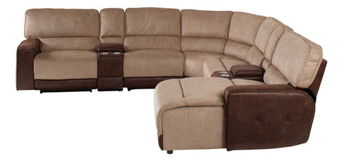 Picture of PASADENA 6 PIECE RIGHT ARM FACING CHAISE SECTIONAL