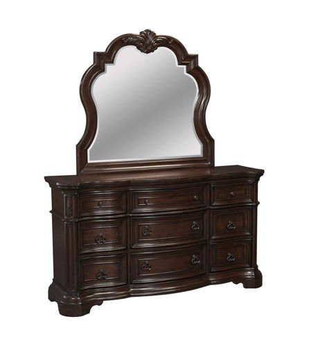 Picture of Alexandria Dresser & Mirror