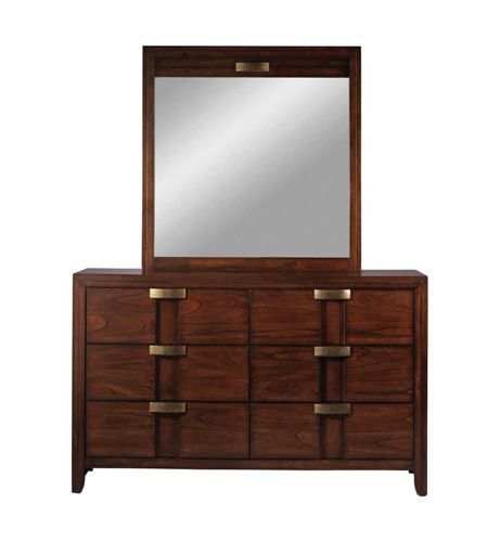 Picture of DIPLOMAT DRESSER & MIRROR