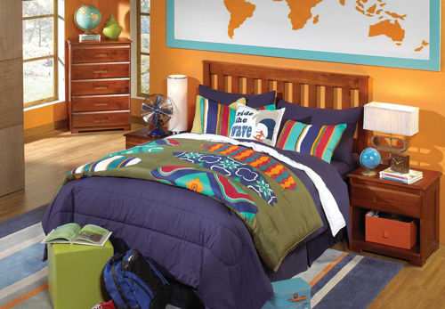 Picture of FORRESTER 3 PIECE FULL BEDROOM SET