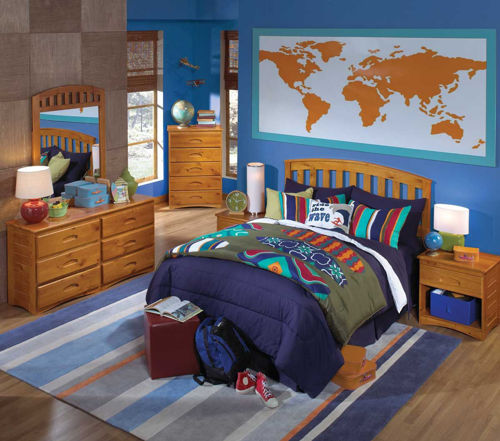 Picture of KENDALL 3 PIECE FULL BEDROOM SET