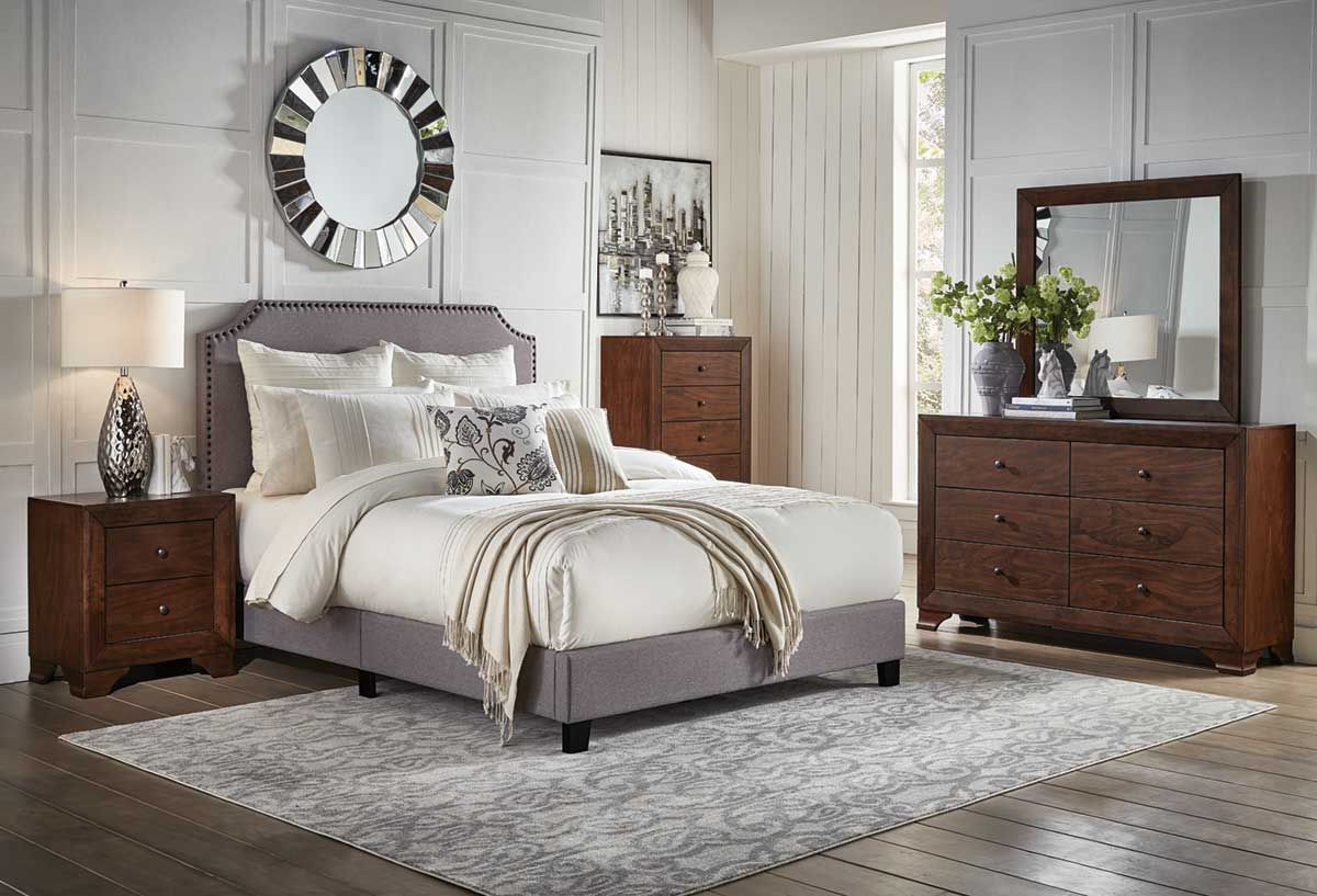 Picture of SHADES II FULL UPHOLSTERED BED