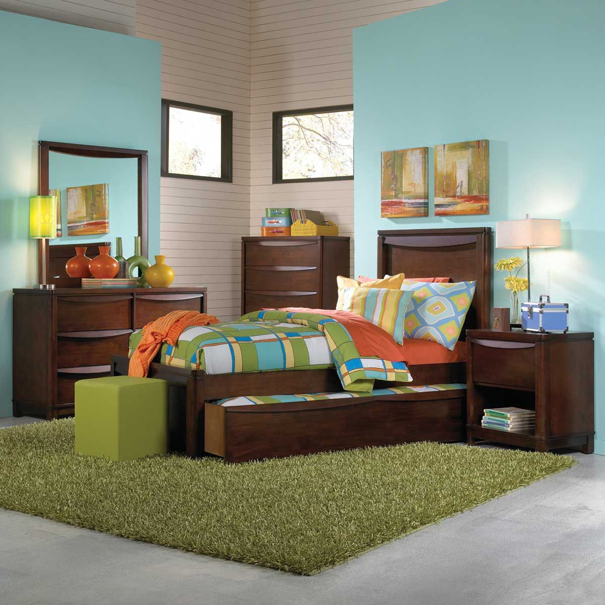 Picture of Brady Twin Panel Bed