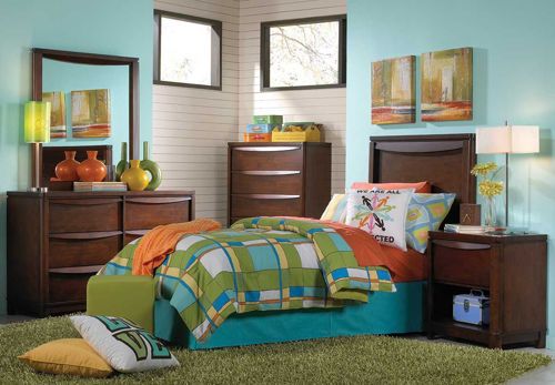 Picture of BRADY 5 PIECE TWIN BEDROOM SET