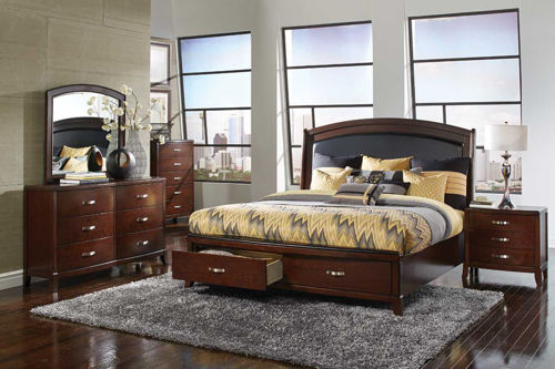 Picture of ENZO 5 PIECE KING BEDROOM SET