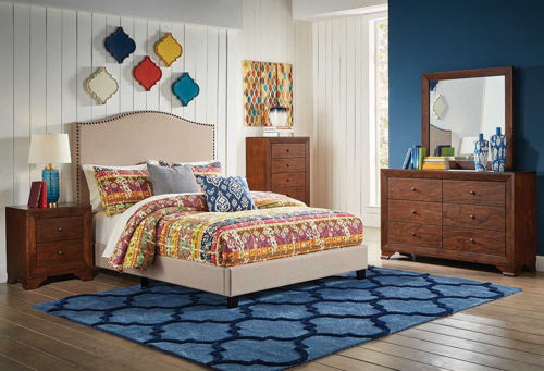 Picture of FLAX II 5 PIECE QUEEN BEDROOM SET