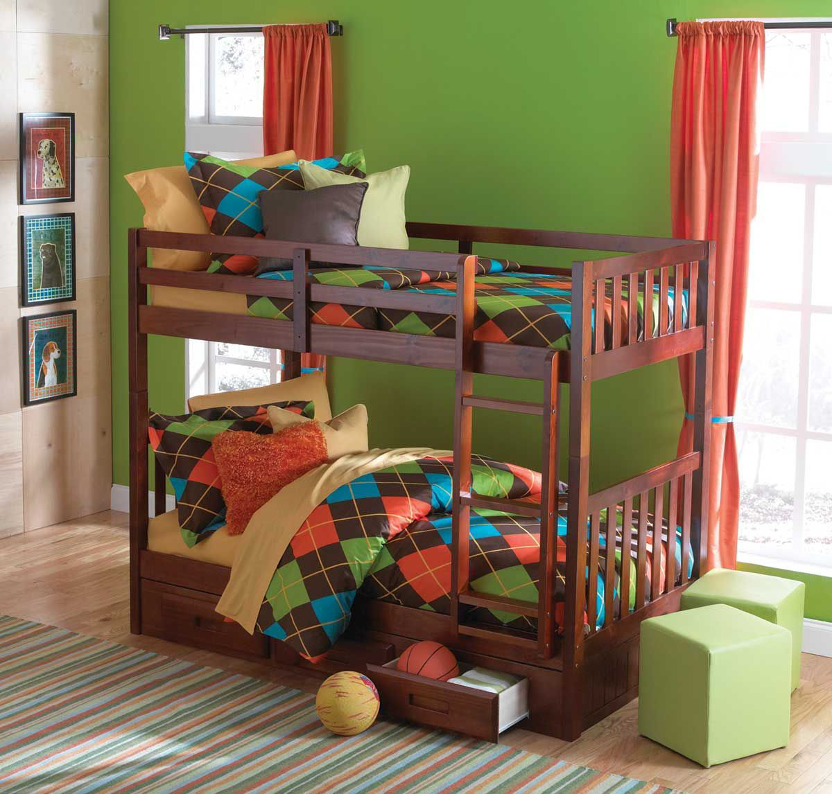 Picture of FORRESTER TWIN OVER TWIN BUNK BED