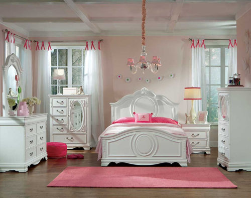 Picture of GRACE 5 PIECE FULL YOUTH BEDROOM SET
