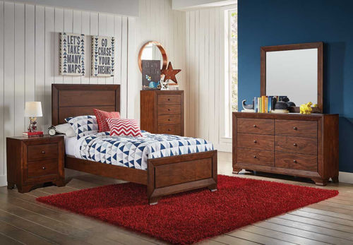 Picture of LANDON 5 PIECE FULL BEDROOM SET