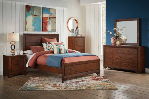 Picture of LANDON 5 PIECE KING BEDROOM SET