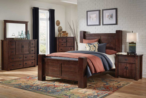 Picture of LATITUDE 5 PIECE KING BEDROOM SET