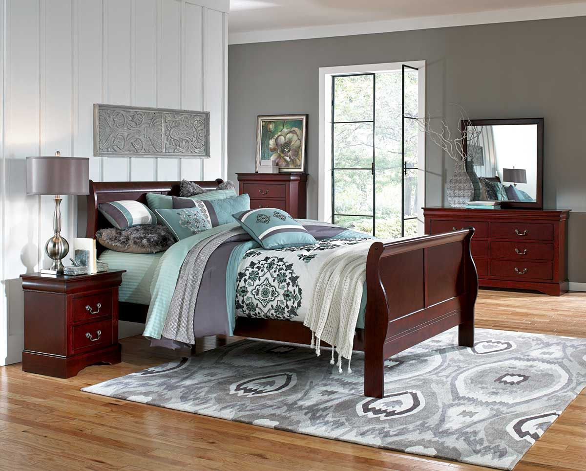 Picture of Lewiston Full Sleigh Bed