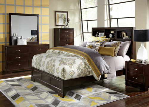Picture of Liam Twin Bookcase Bed