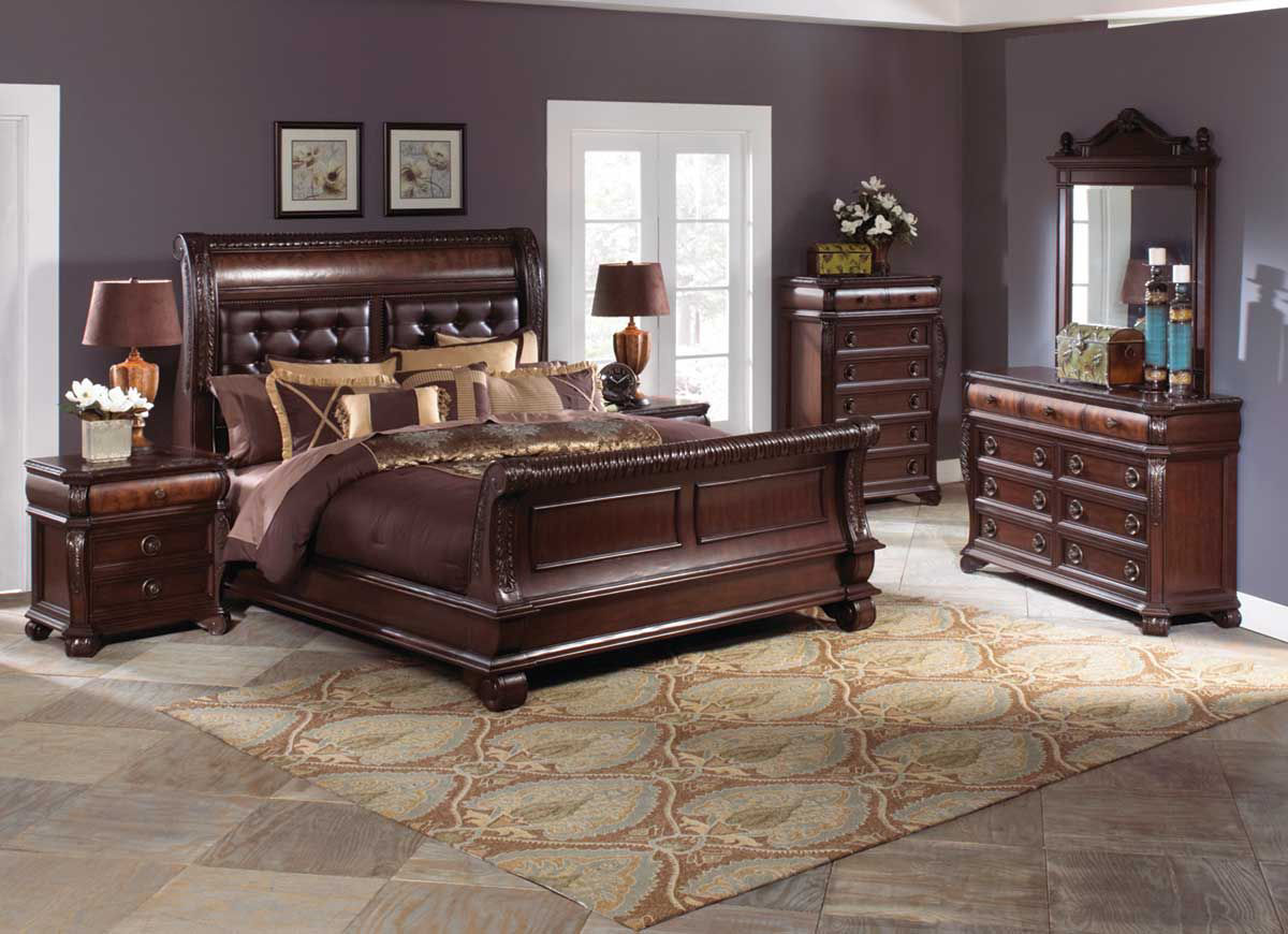 Sophia 5 Pc King Bedroom Group Badcock Home Furniture More