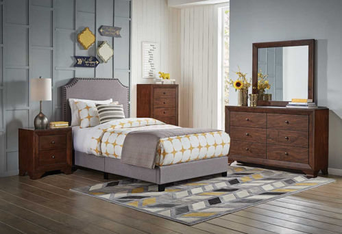 Picture of SHADES II 5 PIECE TWIN BEDROOM SET
