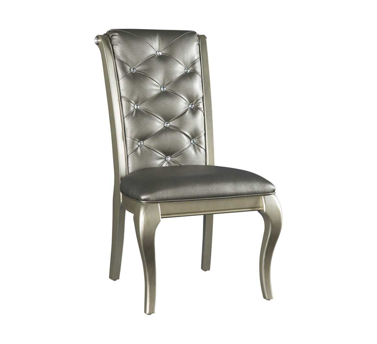 Picture of SILVER GLAM SIDE CHAIR
