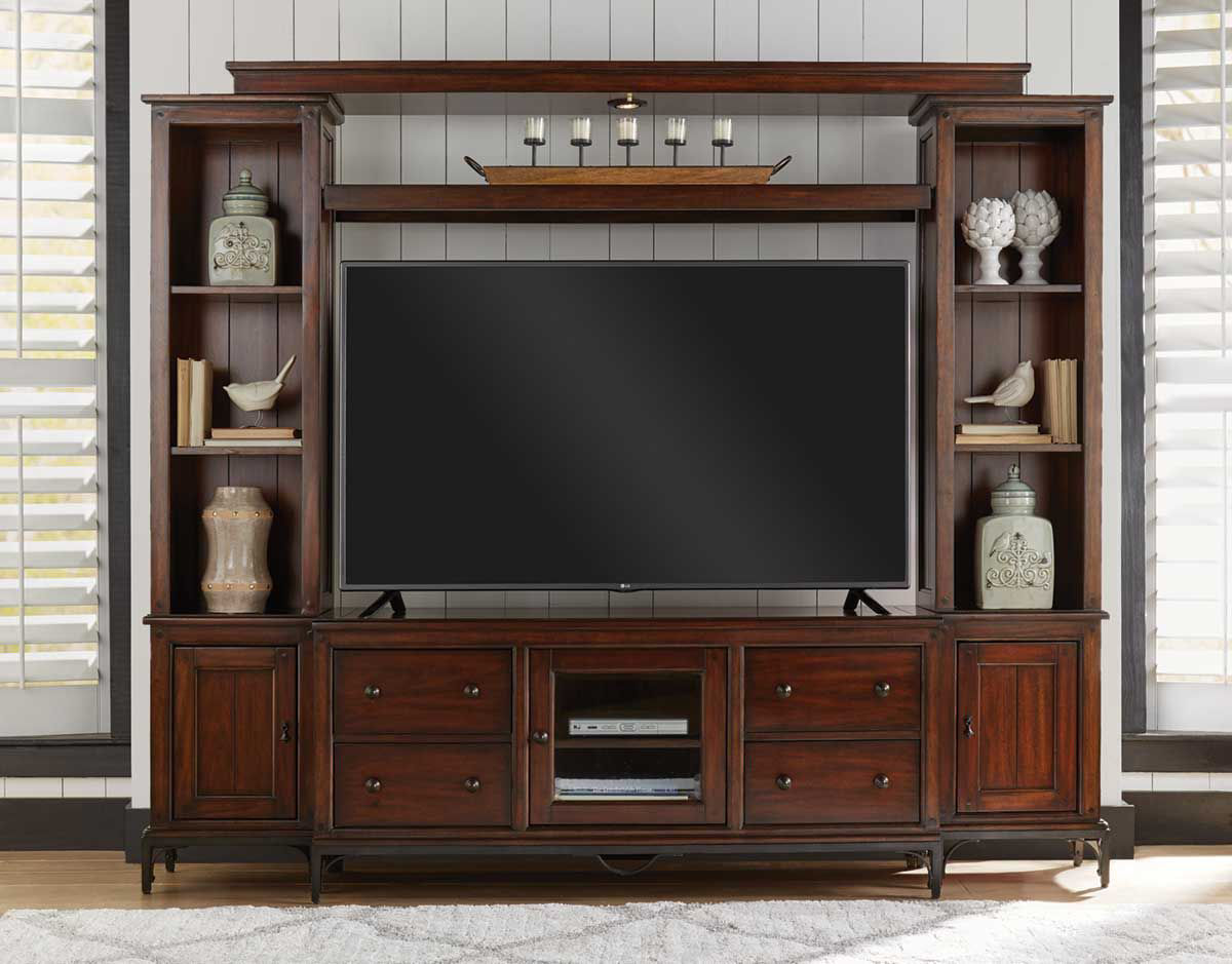 Picture of CANTON HEIGHTS 4 PIECE ENTERTAINMENT CENTER