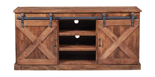 "Picture of FARMHOUSE 66"" TV CONSOLE"