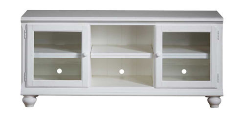 "Picture of HAMILTON PARK WHITE 58"" TV CONSOLE"