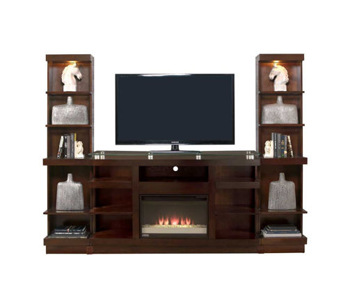 Picture of NOVELLA 3 PIECE FIREPLACE ENTERTAINMENT CENTER