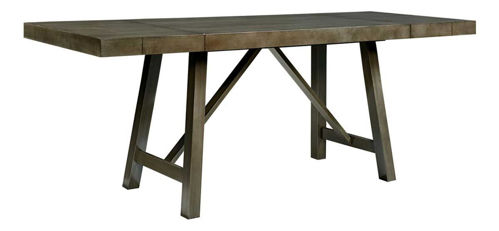 Picture of DALLAS GREY 5 PIECE COUNTER DINING SET