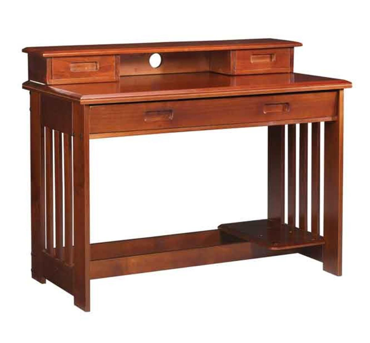 Picture of Forrester Desk & Hutch