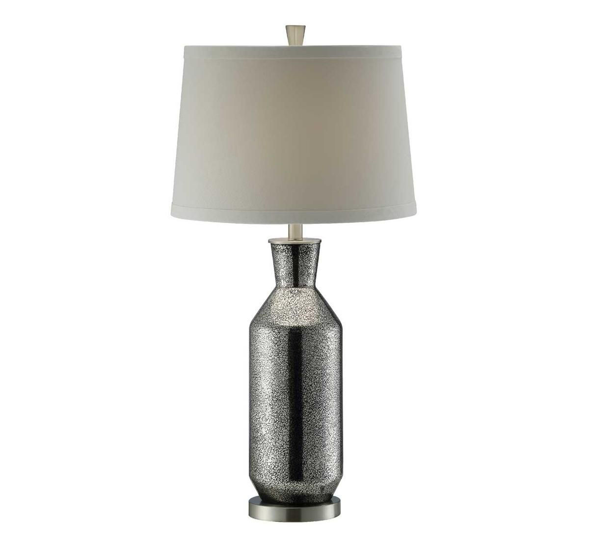 Picture of CONTEMPORARY BLACK MERCURY GLASS LAMP