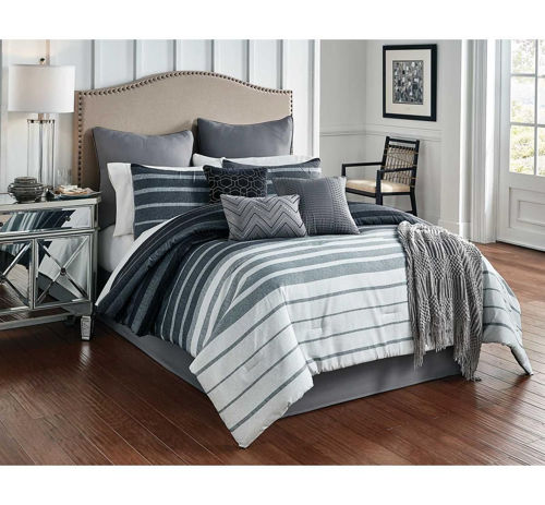 Picture of BRENNAN 10 PIECE KING LINEN SET