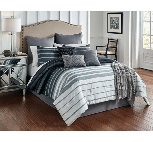Picture of BRENNAN 10 PIECE QUEEN LINEN SET