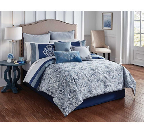 Picture of CHARLES 10 PIECE KING LINEN SET
