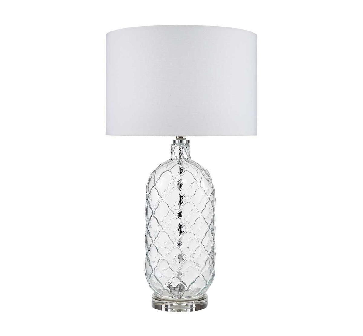 Picture of TRANSITIONAL CLEAR GLASS LAMP