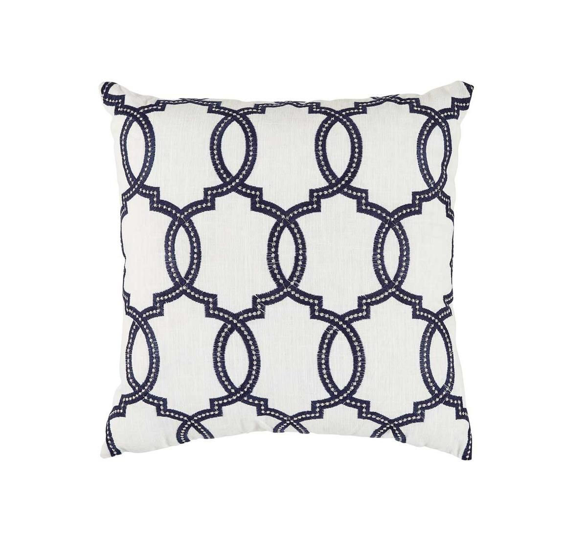 Picture of GATEWORK NAVY THROW PILLOW