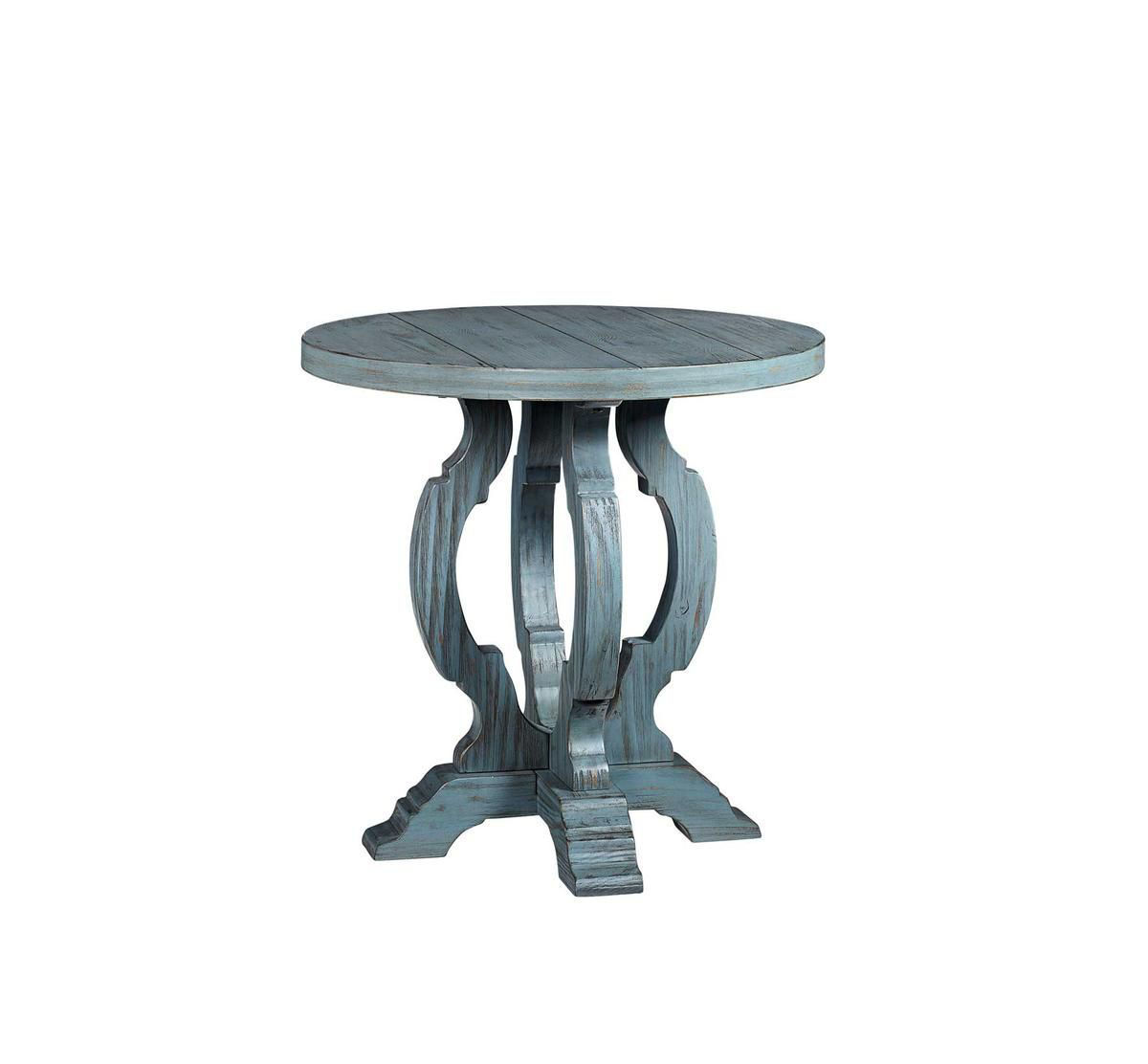 Picture of ORCHARD BLUE ACCENT TABLE