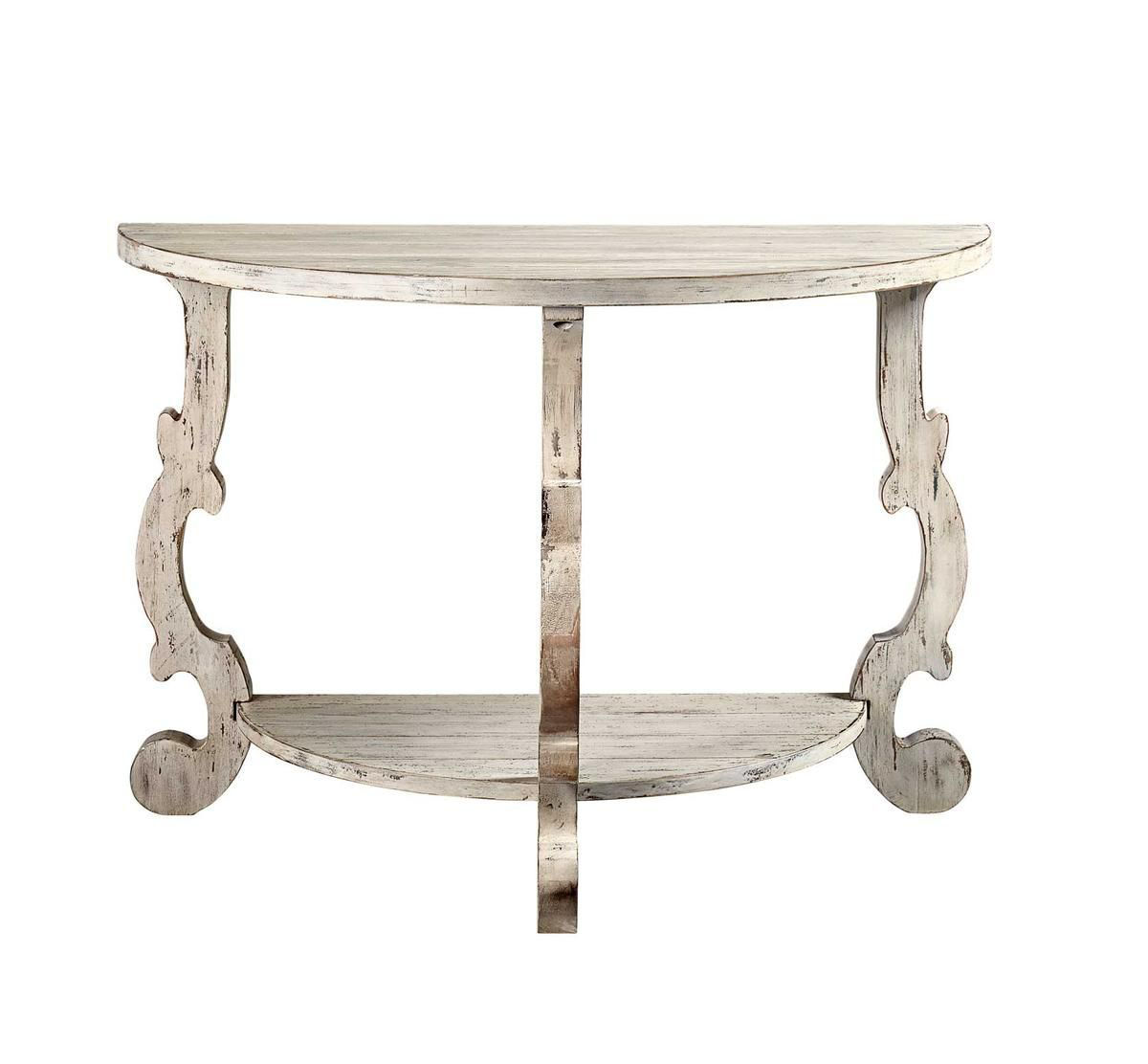Picture of ORCHARD WHITE ACCENT TABLE