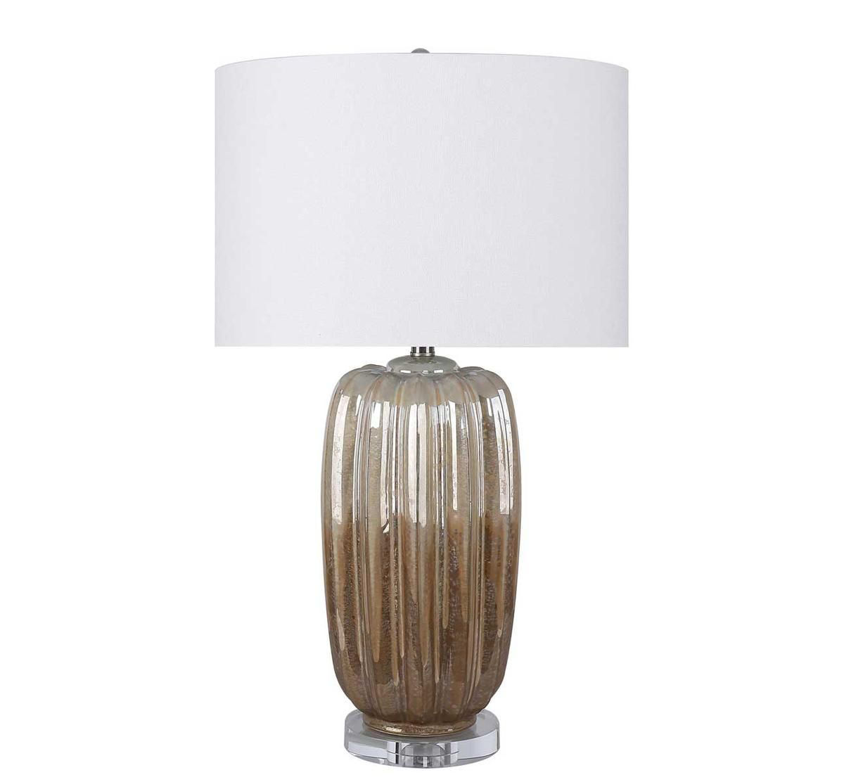 Picture of TRANSITIONAL PEARLIZED BISTRO LAMP